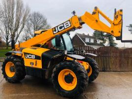 JCB 531-70 TELEHANDLER C/W PICK UP HITCH * YEAR 2012 *