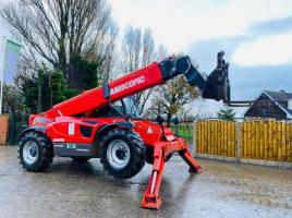 MANITOU MT1436R TURBO TELEHANDLER *YEAR 2011* C/W FORK POSITIONE