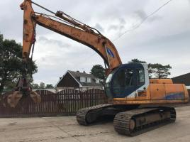 SAMSUNG SE210LC2 TRACKED EXCAVATOR * SPARES OR REPAIRS *