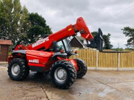 MANITOU MVT665T TURBO TELEHANDLER 6.5TON LIFTING CAPACITY C/W SIDE SHIFT