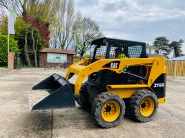 CATERPILLAR 216 SKIDSTEER C/W BUCKET