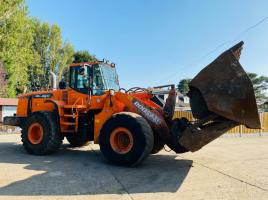 DOOSAN DL420 LOADEING SHOVEL * YEAR 2012 * C/W TIP TOE BUCKET
