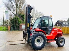MANITOU M26-4 4WD FORKLIFT * YEAR 2007 * C/W PICK UP HITCH