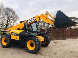 JCB 531-70 TURBO TELEHANDLER C/W BUCKET  ** YEAR 2011 **