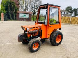 KUBOTA B7100D COMPACT TRACTOR C/W FULLY GLAZED CABIN