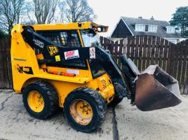 JCB ROBOT SKID STEER C/W FULLY GLAZED CABIN * ONLY 2960 HOURS * PLEASE SEE VIDEO *