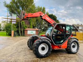 MANITOU MLT634-120LSU TURBO TELEHANDLER C/W PICK UP HITCH
