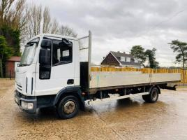 IVECO EURO-CARGO 75E15 FLAT BED LORRY * YEAR 2008 *