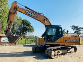 CASE CX210B TRACKED EXCAVATOR * YEAR 2012 *