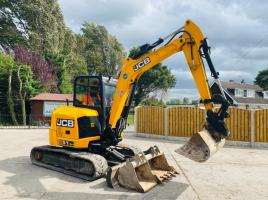 JCB 51R-1 TRACKED EXCAVATOR * YEAR 2016 , ONLY 2331 HOURS * C/W 3 X BUCKETS *SEE VIDEO*