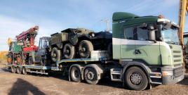 MERCEDES UNIMOG 1500 LOADED FOR EXPORT