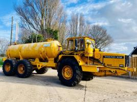 VOLVO BM 6X6 ARTICULATED WATER BOWSER C/W REAR WATER DESPENCER