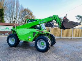 MERLO P40.7 TURBO FARMER TELEHANDLER * YEAR 2012 , AG-SPEC * C/W PICK UP HITCH