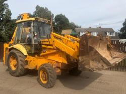 JCB 3CX SITE MASTER PROJECT 8 DIGGER MANUAL GEAR