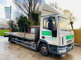 IVECO EURO-CARGO 80E19 * YEAR 2008 * LORRY C/W 24 FOOT BODY