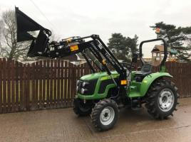 ** BRAND NEW SIROMER 404 4WD TRACTOR WITH LOADER YEAR 2021 **