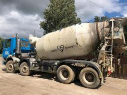FODEN A3000 8 WHEEL DOUBLE DRIVE CEMENT MIXER WAGON