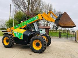 JCB 531 - 70 TELEHANDLER * YEAR 2013 * C/W STRICKLANDS BUCKET