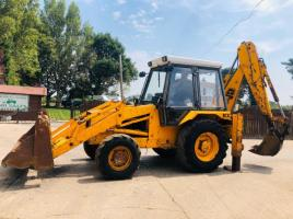 JCB 3CX SITEMASTER BACK HOW DIGGER C/W PROJECT 8 BACK END