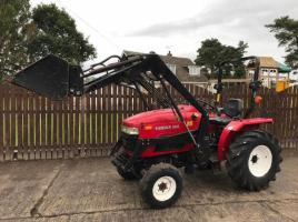 SIROMER 304 4WD COMPACT TRACTOR C/W LOADR ( YEAR 2007 )