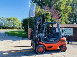 LINDE H25-05 DIESEL FORKLIFT * YEAR 2011 * C/W SIDE SHIFT