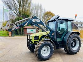 HUIRLIMAN XA-658T 4WD TRACTOR * ONLY 4607 HOURS * C/W SIGMA 4 FRONT LOADER
