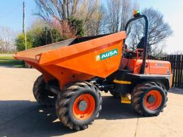 AUSA D600 6 TON DUMPER * YEAR 2014 ONLY 1343 HOURS * C/W ROLE BAR * PLEASE SEE VIDEO *