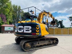 JCB JS130 TRACKED EXCAVATOR * YEAR 2014 , ONLY 6338 HOURS *