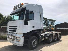 IVECO STRALIS 500 8X4 DOUBLE DRIVE 150 TONNER TRACTOR UNIT * HEAVY HAULAGE *