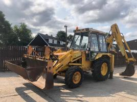 JCB 3CX 4WD PROJECT 7 BACK HOE DIGGER C/W REAR EXTENDING DIG