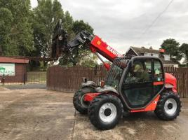 MANITOU MLT523T TUBRO TELEHANDLER ( YEAR 2008 ) * ONLY 4317 HOURS * ( SEE VIDEO )
