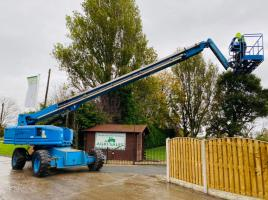 GENIE S85 WHEELED CHERRY PICKER * YEAR 2007 * 23 METER REACH