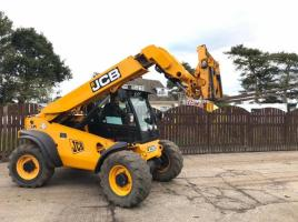 JCB 527-55 4WS TELEHANDLER ( YEAR 2012 ) * ONLY 4241 HOURS * ( PLEASE SEE VIDEO )