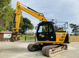 JCB JS130LC TRACKED EXCAVATOR * YEAR 2014 * C/W REVERSE CAMERA