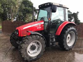 MASSEY FERGUSON 5455 4WD TRACTOR ( ROAD REGISTERED )
