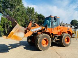 DOOSAN DL200 LOADING SHOVEL * YEAR 2011 * C/W REVERSE CAMERA *SEE VIDEO*