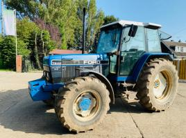 FORD 7840 SLE 4WD TRACTOR C/W FRONT WEIGHTS