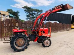 SHIBAURA 4WD TRACTOR C/W FRONT LOADER AND BUCKET