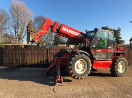 MANITOU MT1233S TELEHANDLER ( YEAR 2002 ) ( PLEASE SEE VIDEO )