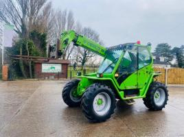 MERLO P28.7KT TURBO FARMER TELEHANDLER *ONLY 4964 HOURS , EX-NHS* C/W PUH *VIDEO*