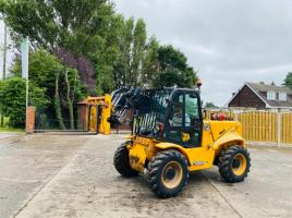 JCB 520-50 TELEHANDLER * YEAR 2012 * ONLY 3006 HOURS