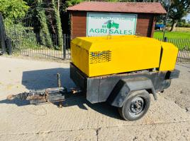 INGERSOLL-RAND P130WD TOWABLE COMPRESSOR