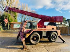 JONES J1F 10 MOBILE CRANE C/W 4 X SUPPORT LEGS