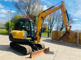 FERMEC 050 TRACKED EXCAVATOR C/W QUICK HITCH & RUBBER TRACKS