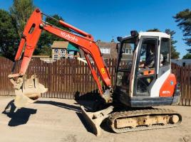KUBOTA KX71-3 MINI DIGGER * YEAR 2007 * C/W 3 X BUCKETS
