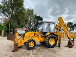 JCB 3CX PROJECT 7 4WD BACKHOE DIGGER C/W FOUR IN ONE BUCKET & PALLET TINES