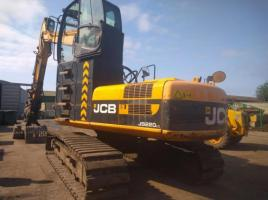 JCB JS220LC HIGH CABBED MATERIAL HANDLER C/W GRAB ( YEAR 2010 )  *POA*