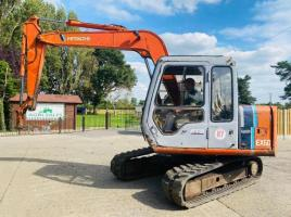 HITACHI EX60-2 TRACKED EXCAVATOR C/W RUBBER TRACKS