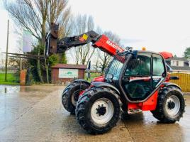 MANITOU MLT634-120LSU TELEHANDLER *AG-SPEC* YEAR 2009 C/W PUH *SEE VIDEO*