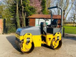 BOMAG BW 120 DOUBLE DRUM ROLLER C/W ROLE FRAME